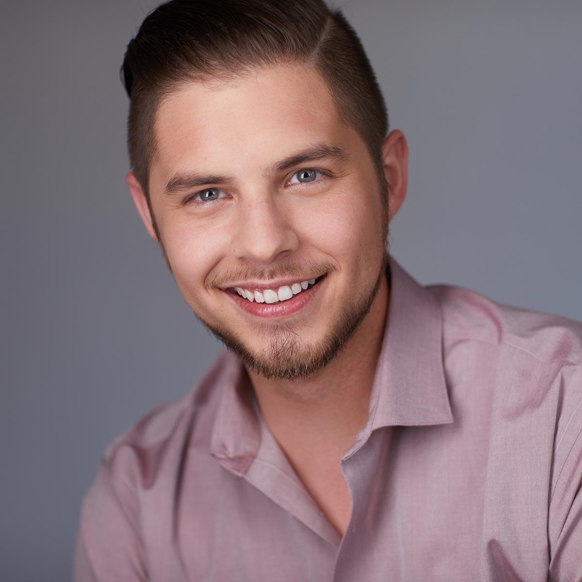 ArtSmart mentor Nate Mattingly